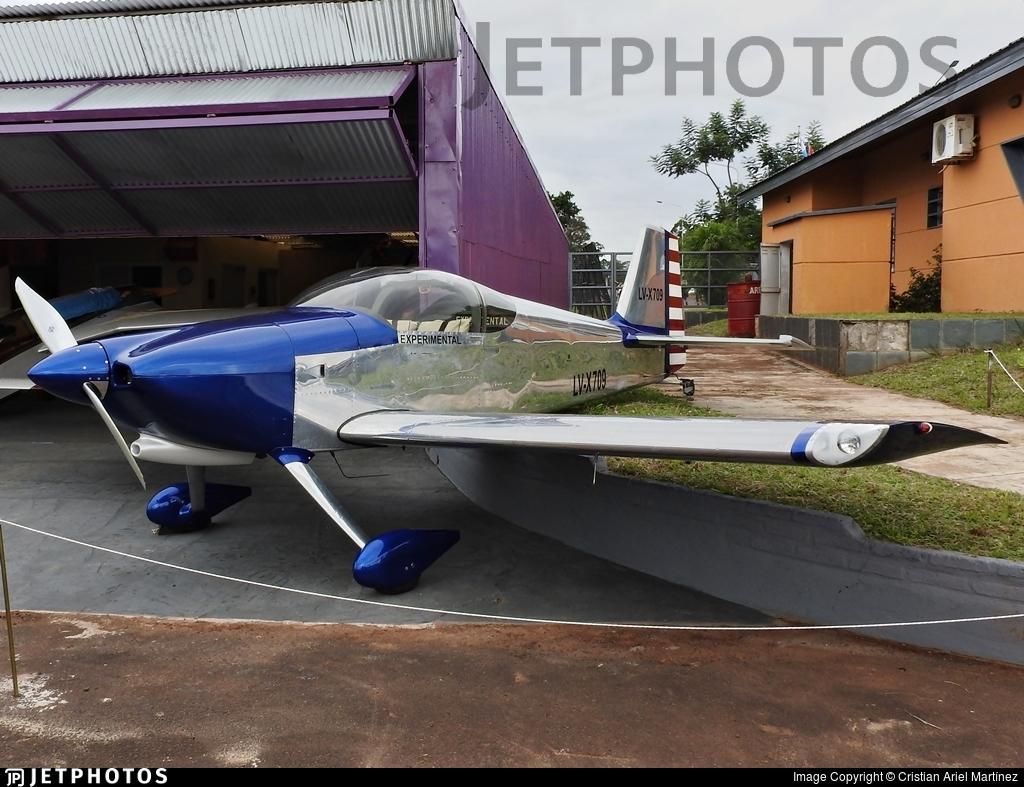 LV-X709 - Vans RV-6 - Private