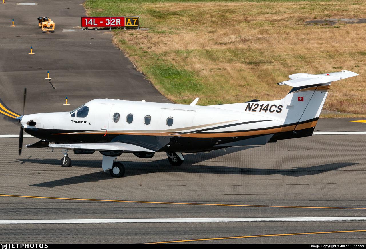 N214CS - Pilatus PC-12/47 - Private