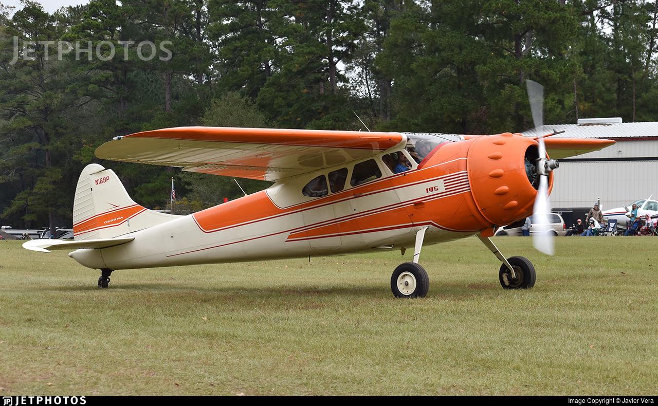 N189P - Cessna 195 - Private