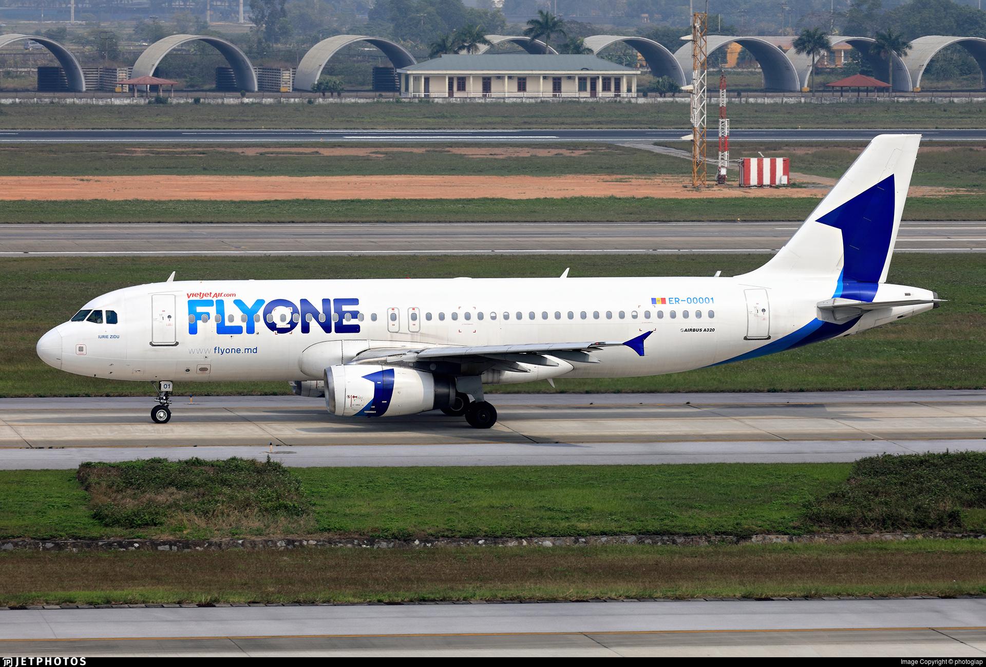 ER-00001 - Airbus A320-232 - VietJet Air (FlyOne)