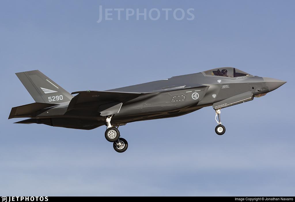 5290 - Lockheed Martin F-35A Lightning II - Norway - Air Force