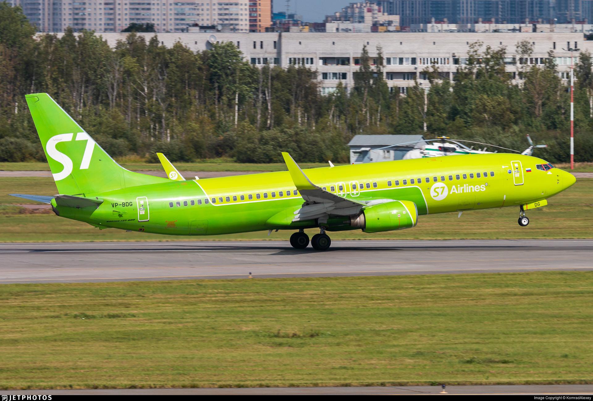 VP-BDG - Boeing 737-8Q8 - S7 Airlines