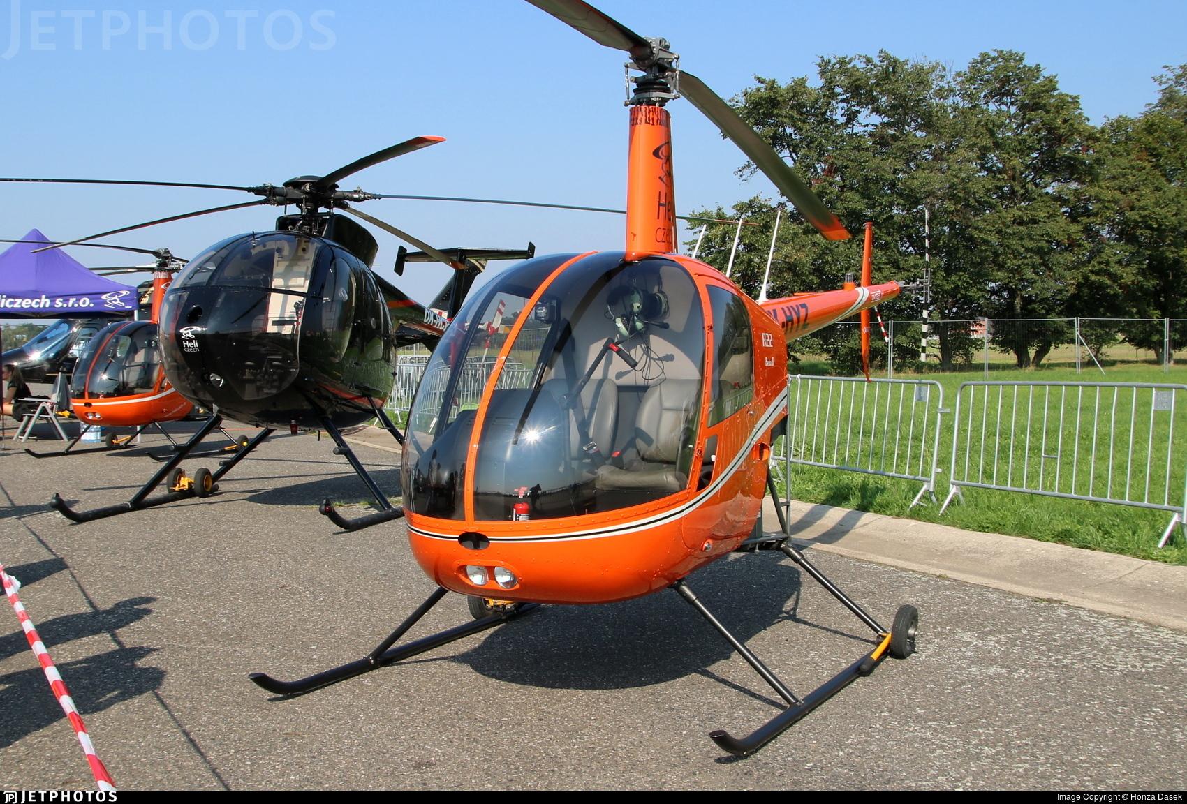 OK-HYZ - Robinson R22 Beta II - Heli Czech