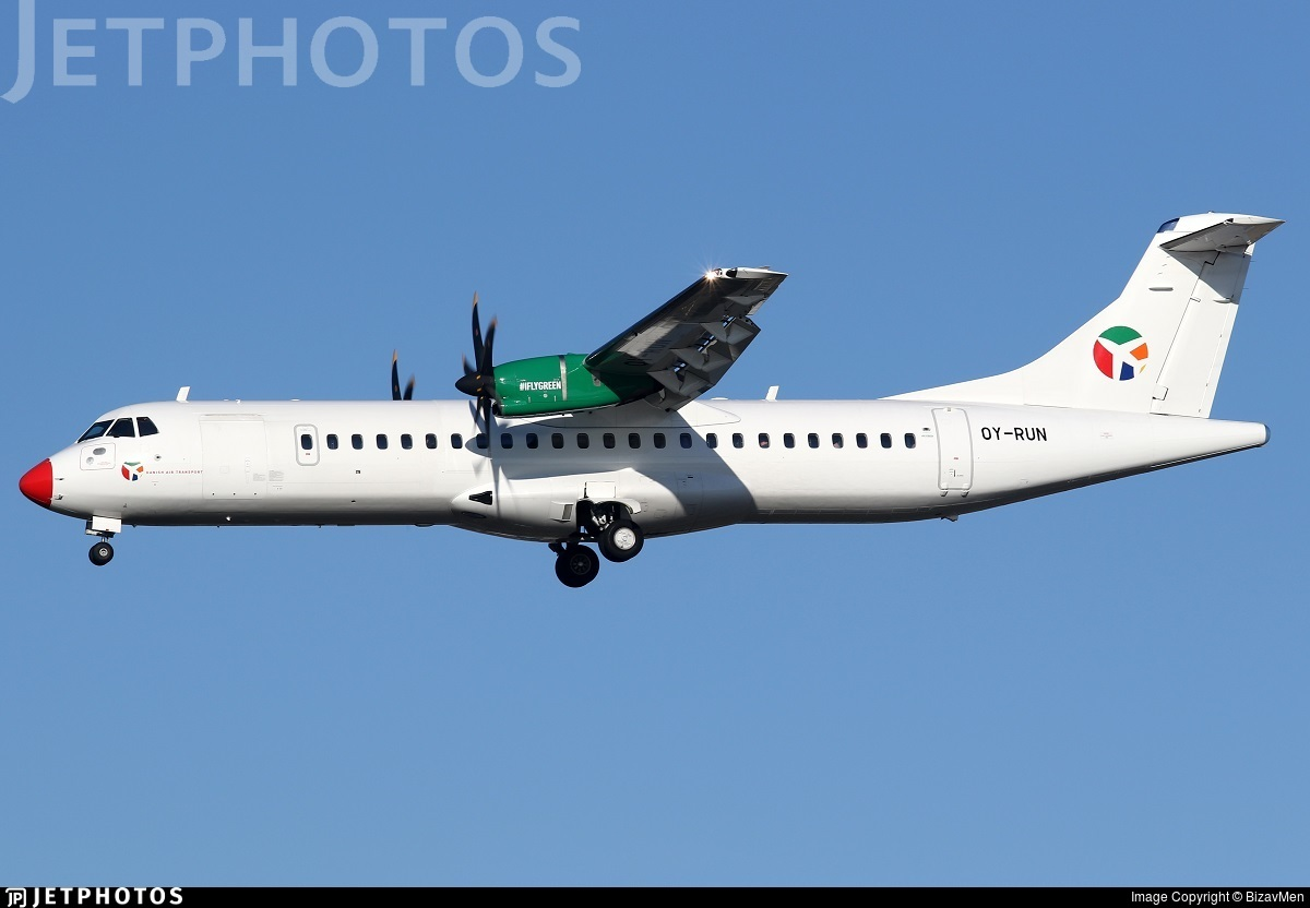 OY-RUN - ATR 72-212A(600) - Danish Air Transport (DAT)