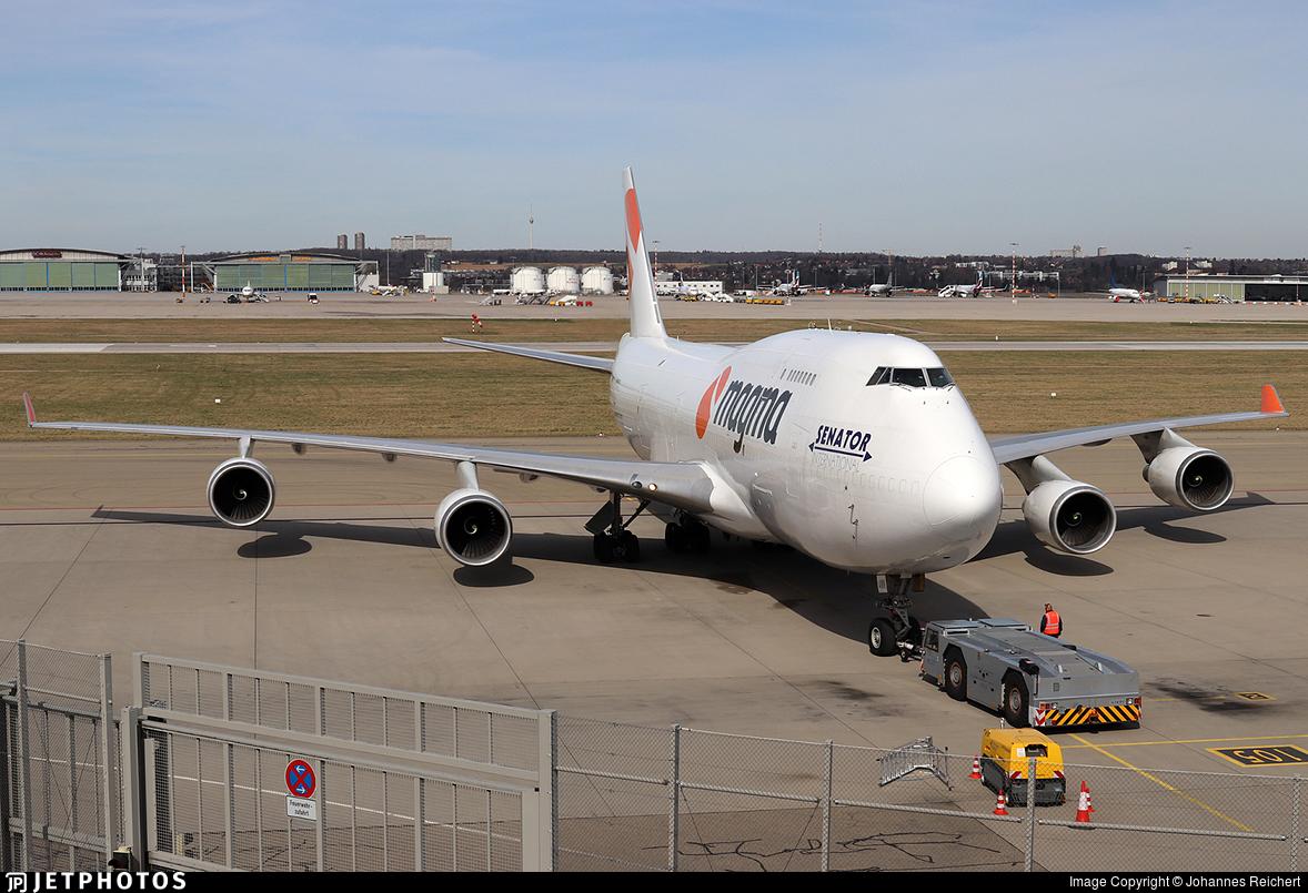 TF-AMN - Boeing 747-4F6(BDSF) - Magma Aviation (Air Atlanta Icelandic)