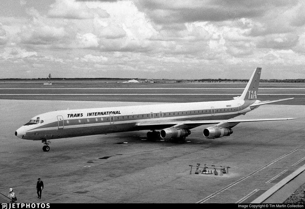 N8960T - Douglas DC-8-61(CF) - Trans International Airlines (TIA)