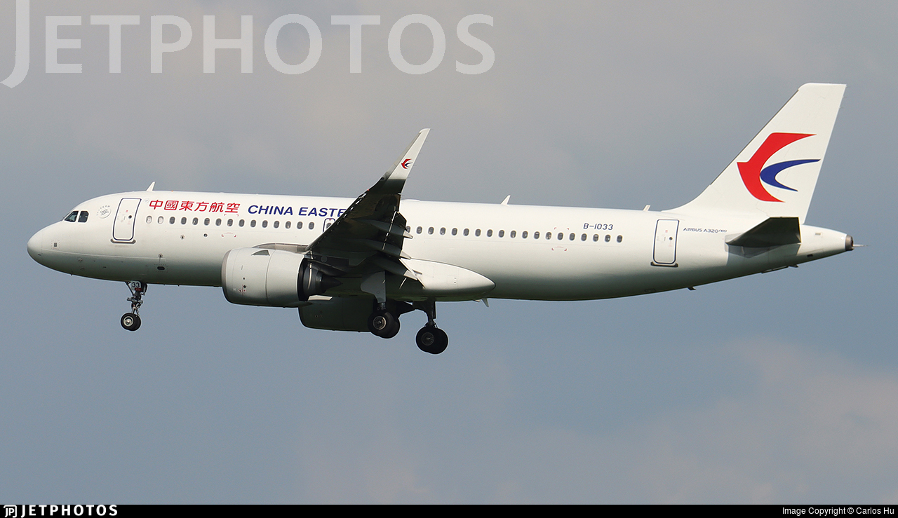 B-1033 - Airbus A320-251N - China Eastern Airlines