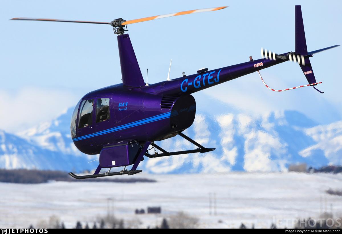 C-GTEJ - Robinson R44 Raven II - Synergy Aviation