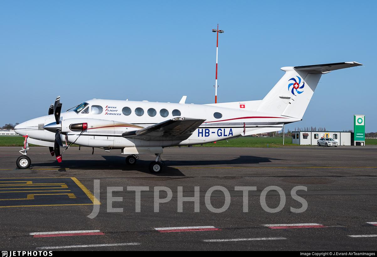 HB-GLA - Beechcraft 200 Super King Air - Swiss Flight Services (SFS)