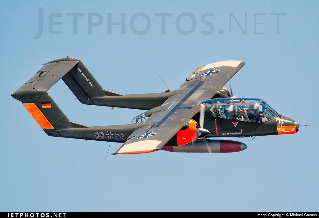 F-AZKM - North American OV-10B Bronco - Private