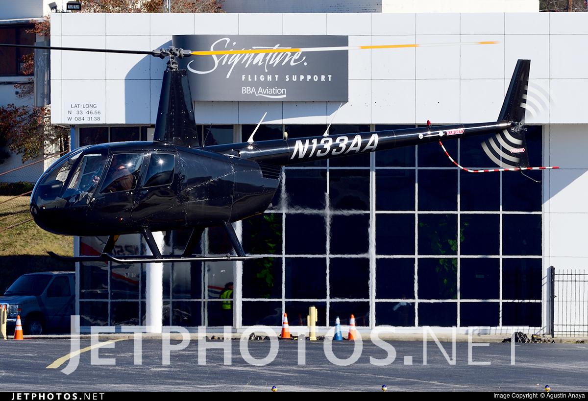 N133AA - Robinson R44 Raven II - Private