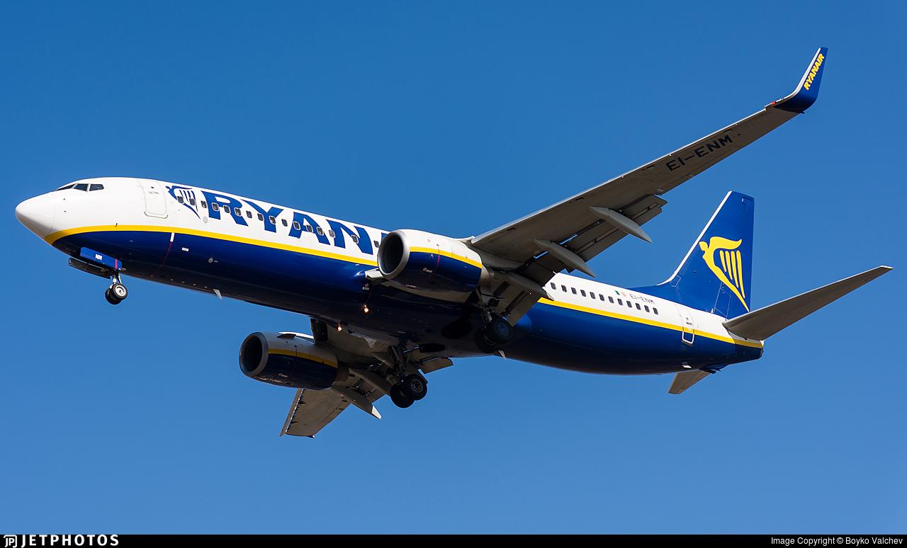 EI-ENM - Boeing 737-8AS - Ryanair