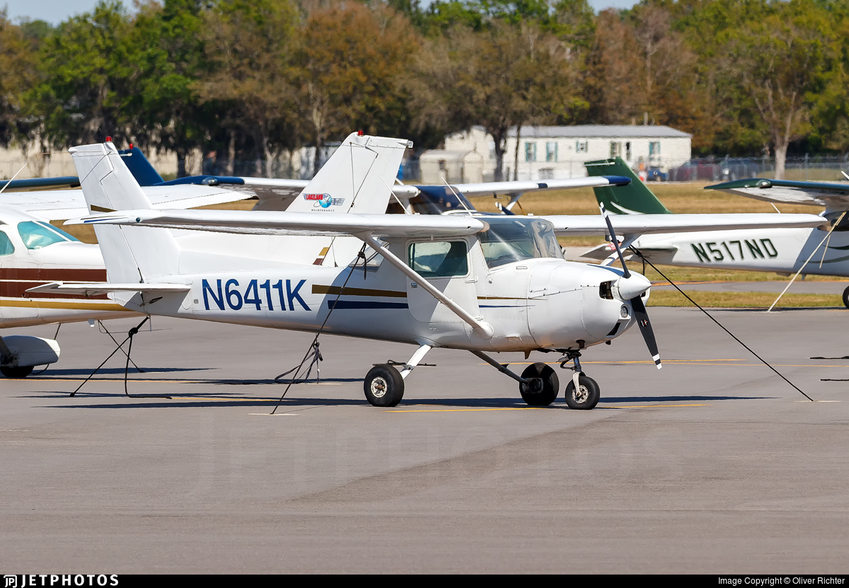 N6411K - Cessna 150M - Royal Palm Flight Services
