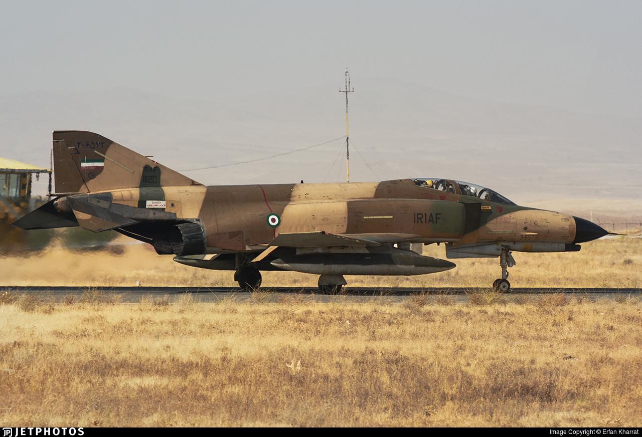 3-6572 - McDonnell Douglas F-4E Phantom II - Iran - Air Force