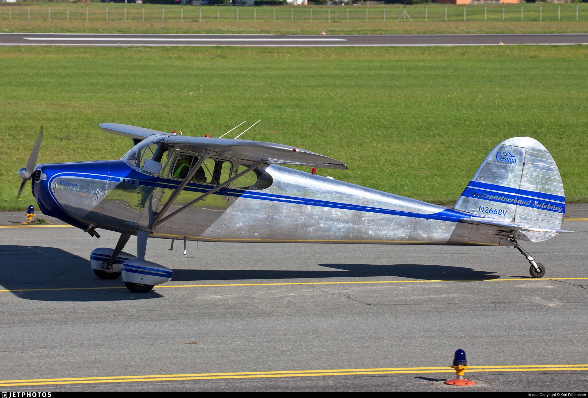 N2668V - Cessna 170 - Luftsportverband Salzburg