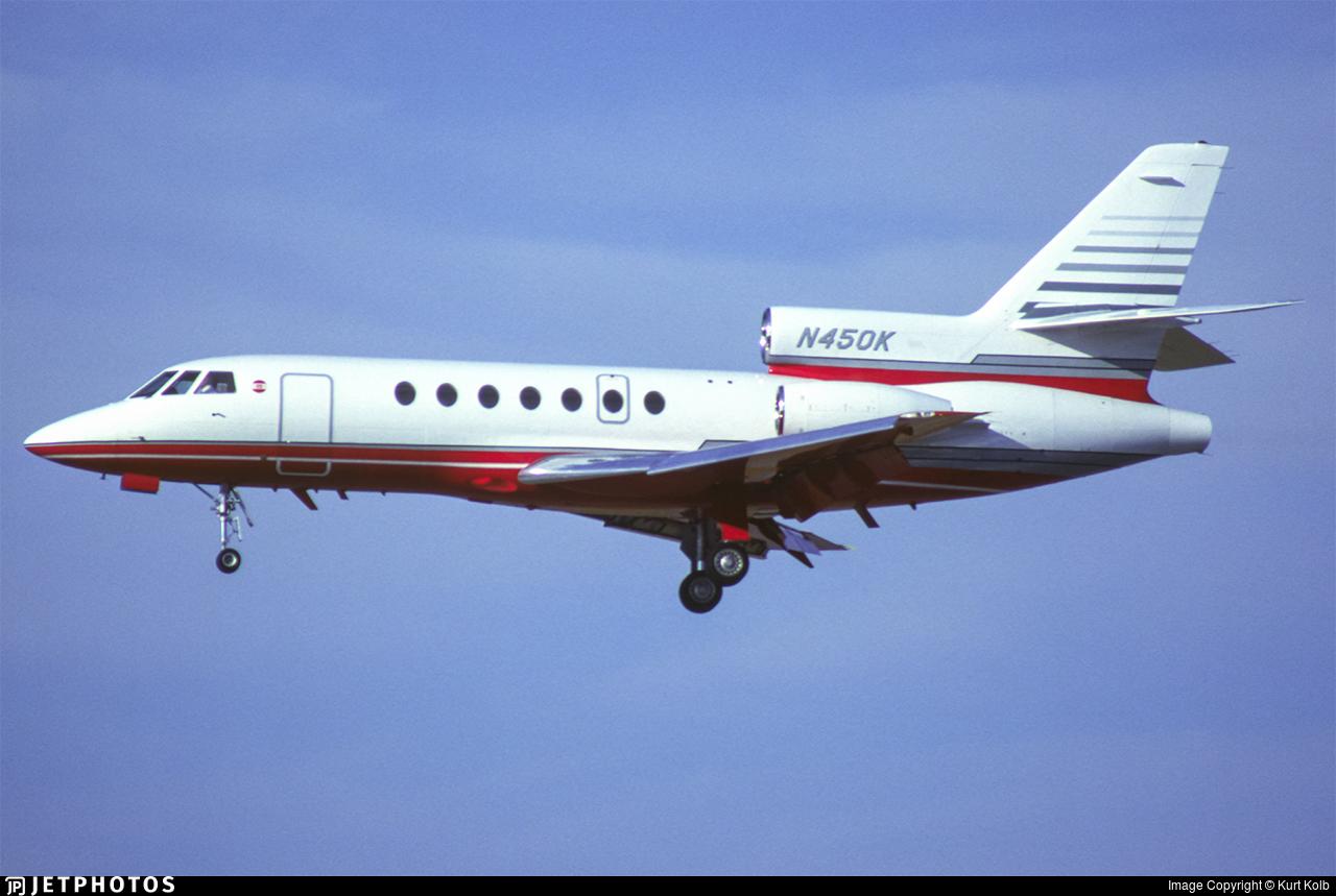 N450K - Dassault Falcon 50EX - Private