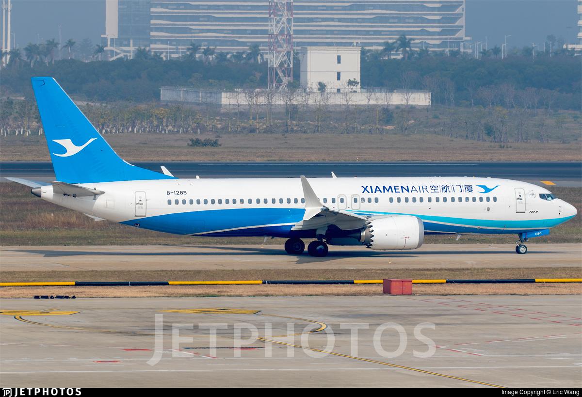 B-1289 - Boeing 737-8 MAX - Xiamen Airlines