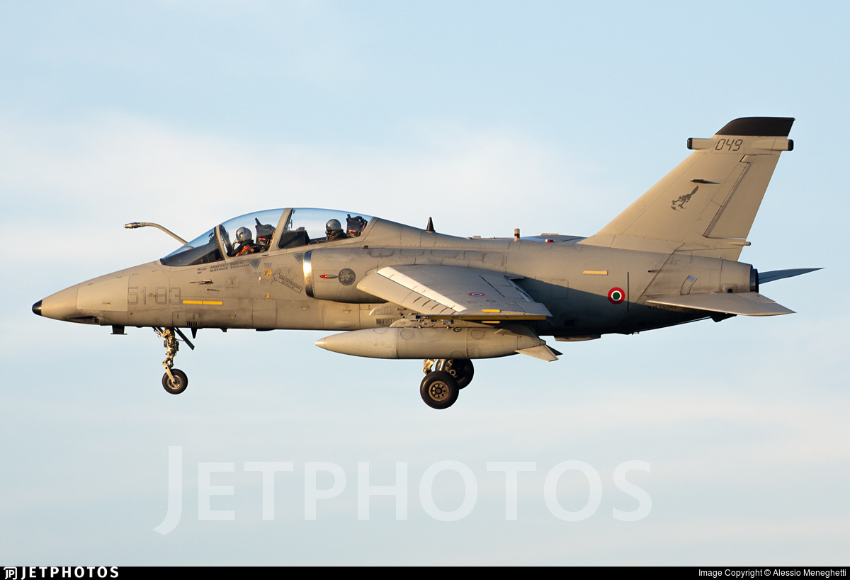 MM55049 - Alenia/Aermacchi/Embraer AMX-T - Italy - Air Force