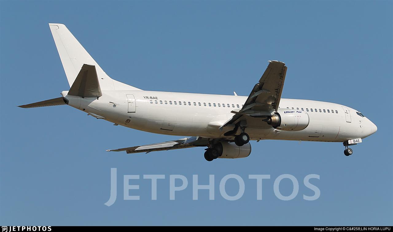 YR-BAE - Boeing 737-46N - Blue Air