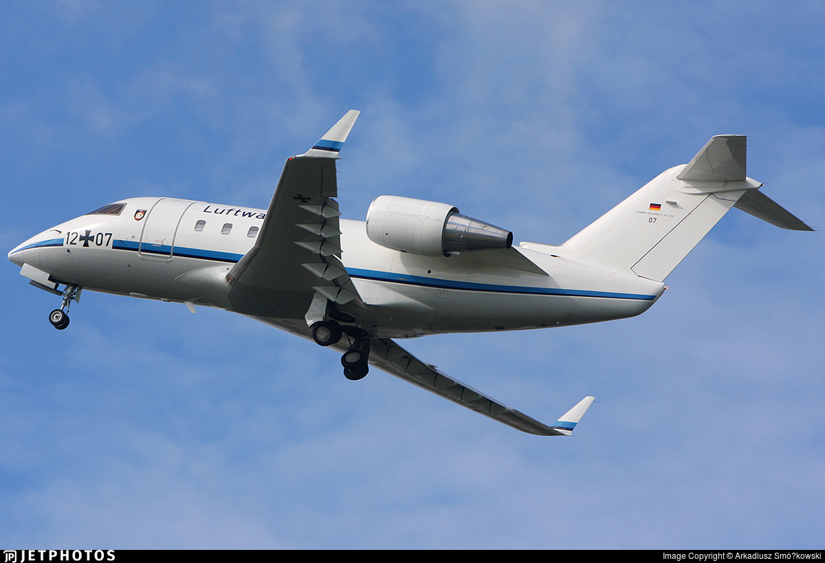 12-07 - Bombardier CL-600-2A12 Challenger 601 - Germany - Air Force