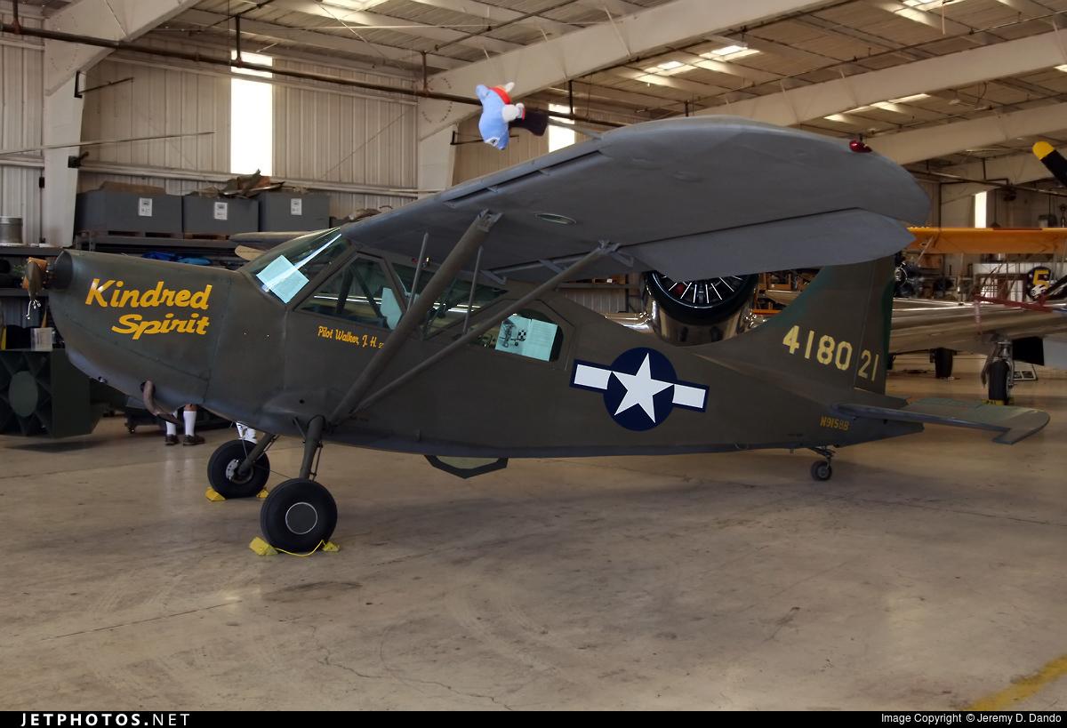 N9158B - Stinson L-5E Sentinel - Commemorative Air Force