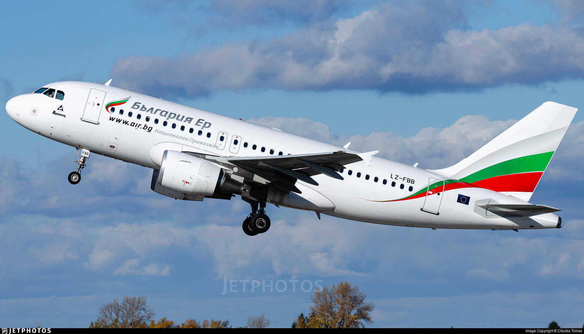 LZ-FBB - Airbus A319-112 - Bulgaria Air
