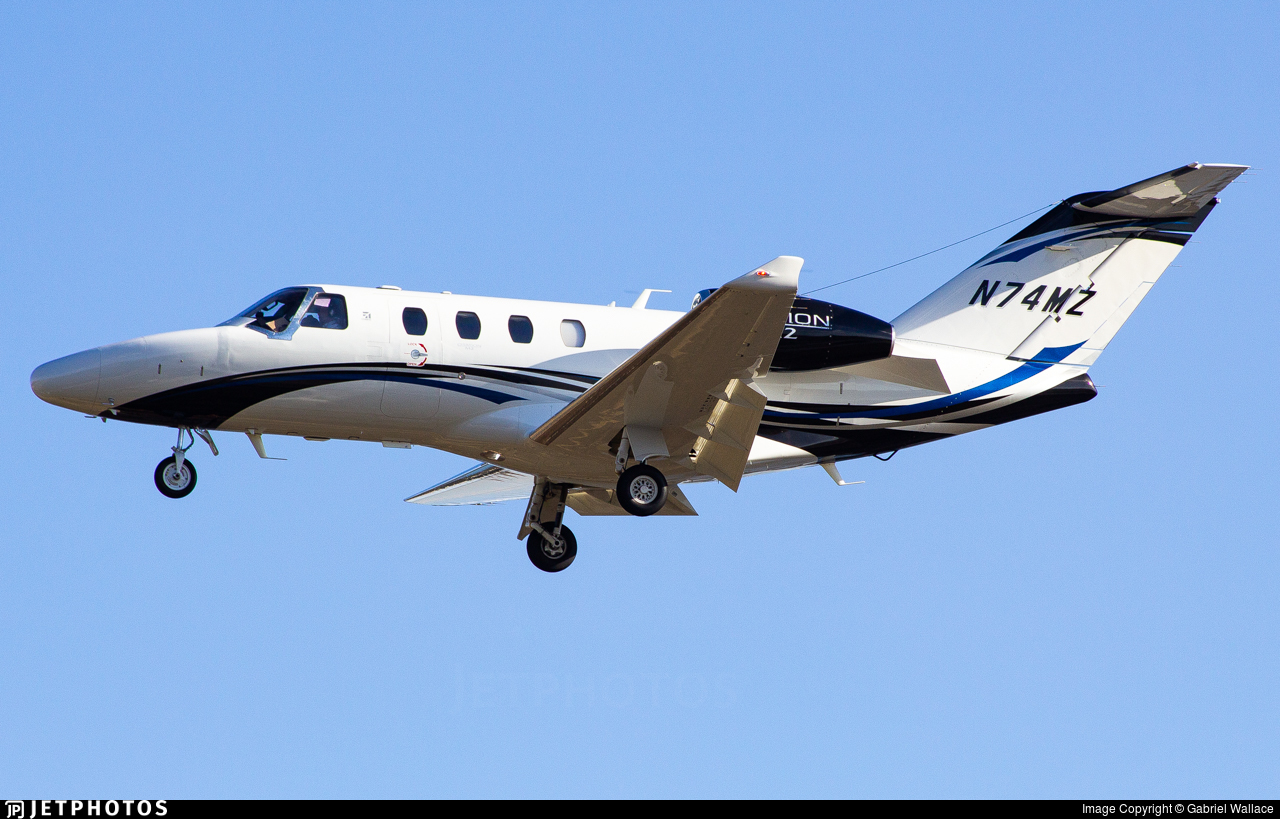 N74MZ - Cessna 525 CitationJet M2 - Textron Aviation