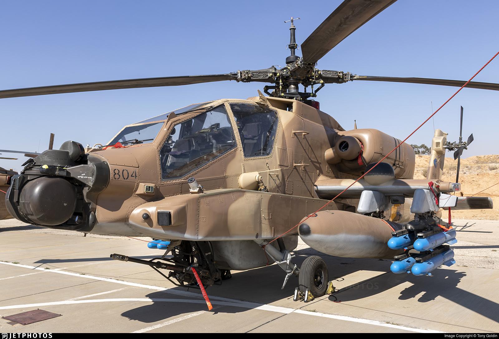 804 - Boeing AH-64D Peten - Israel - Air Force