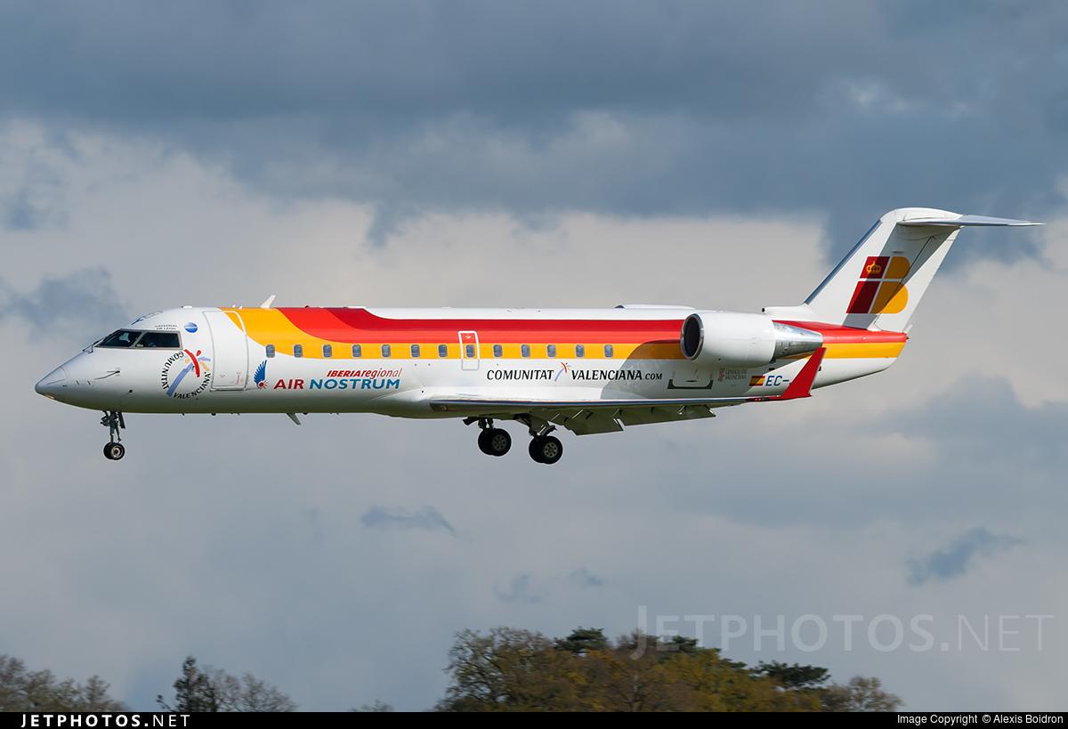 EC-JOY - Bombardier CRJ-200ER - Iberia Regional (Air Nostrum)