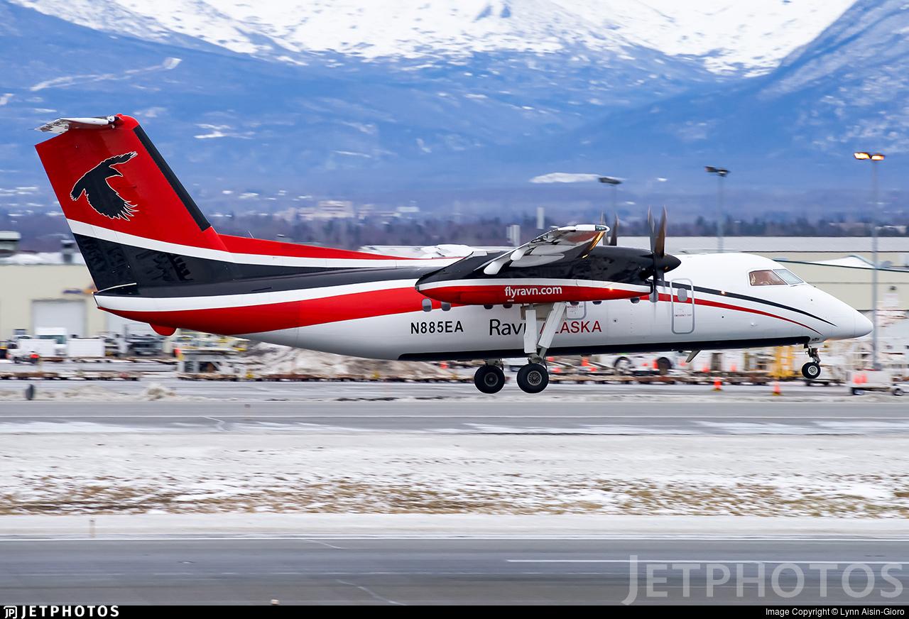 N885EA - Bombardier Dash 8-106 - Ravn Alaska