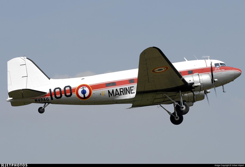 N49AG - Douglas DC-3A - Private
