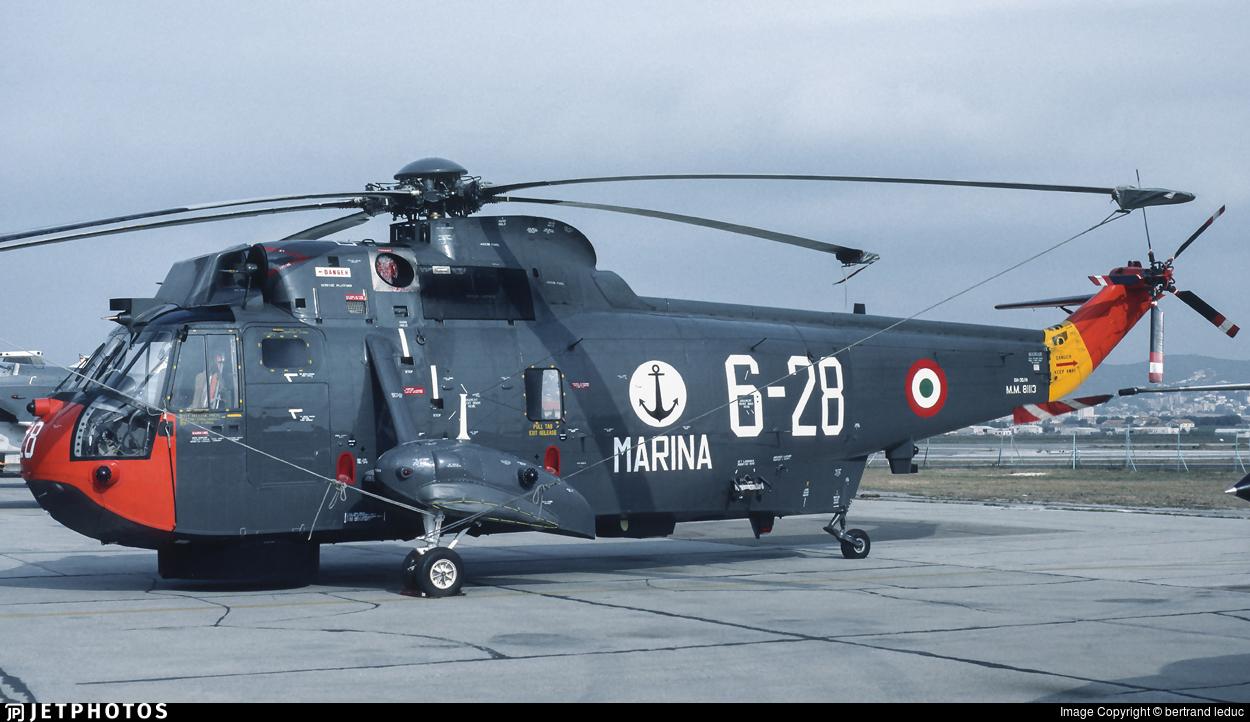 MM81113 - Sikorsky SH-3D Sea King - Italy - Navy
