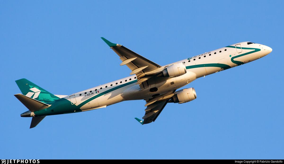 I-ADJN - Embraer 190-200LR - Air Dolomiti