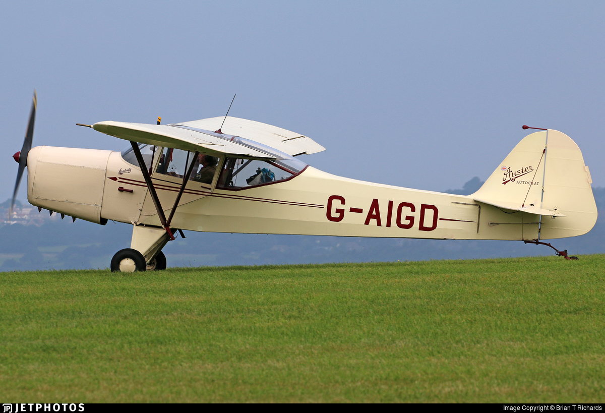 G-AIGD - Auster 5J1 Autocrat - Private
