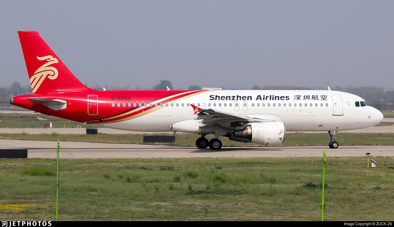 B-6566 - Airbus A320-214 - Shenzhen Airlines
