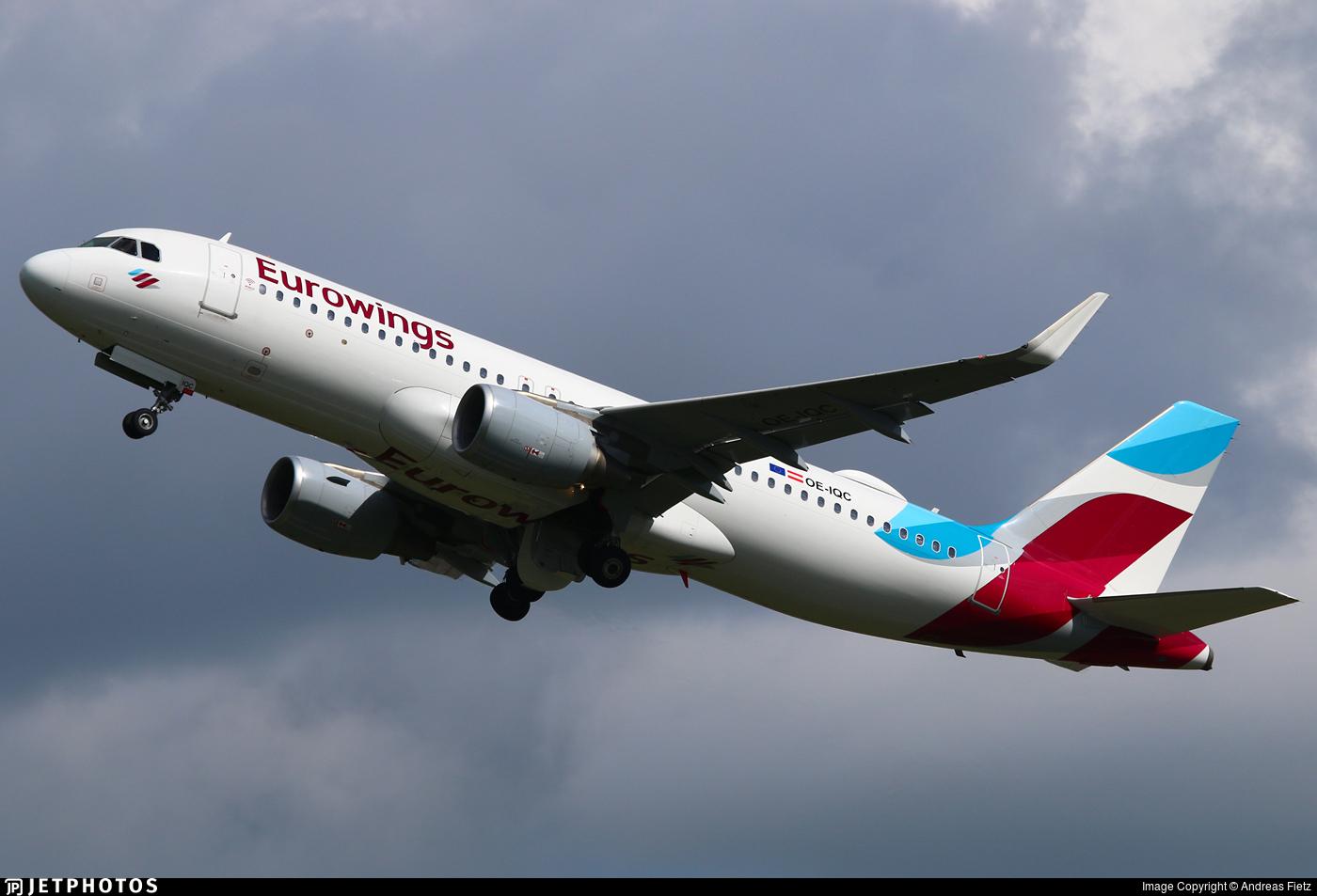 OE-IQC - Airbus A320-214 - Eurowings Europe