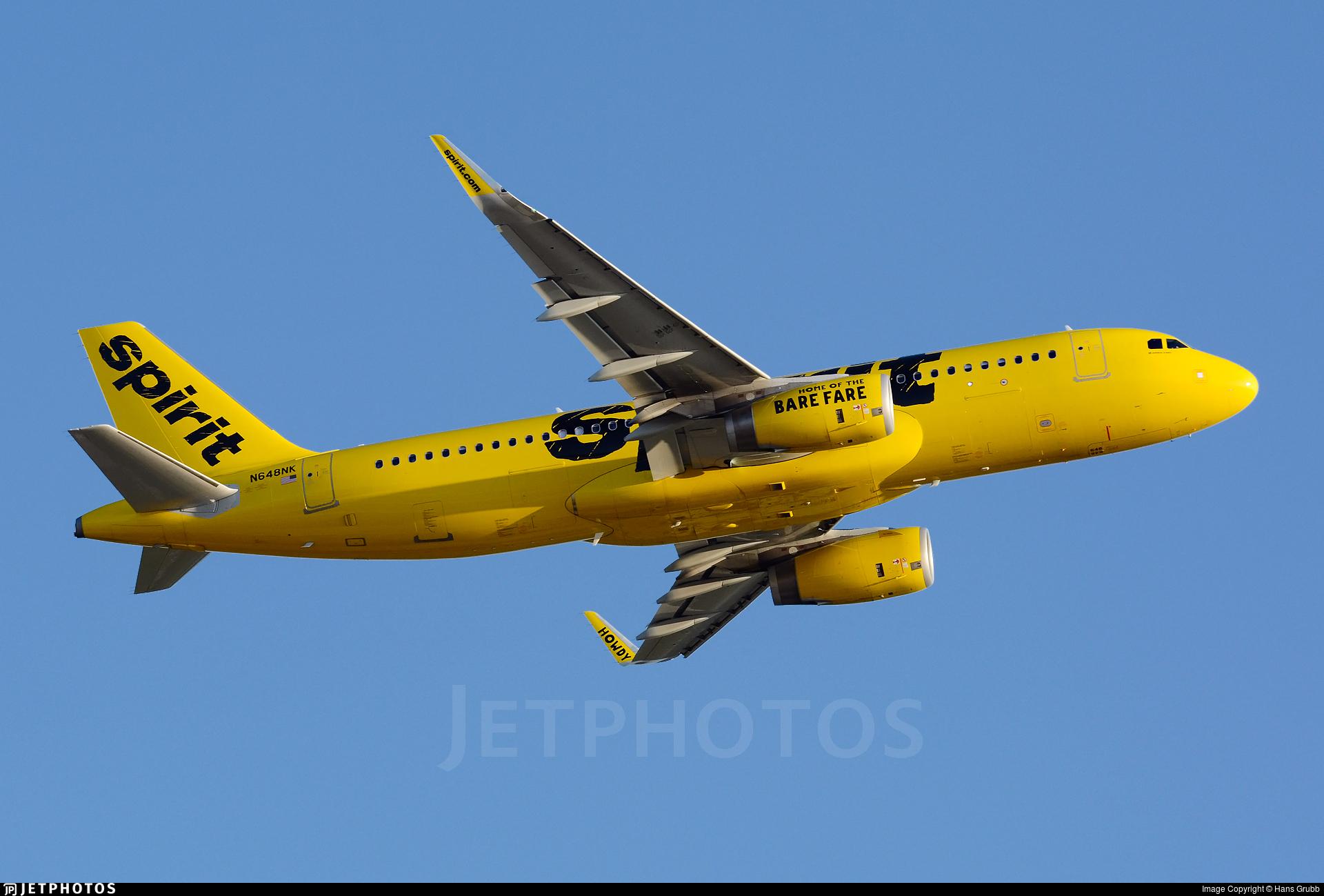 N648NK - Airbus A320-232 - Spirit Airlines