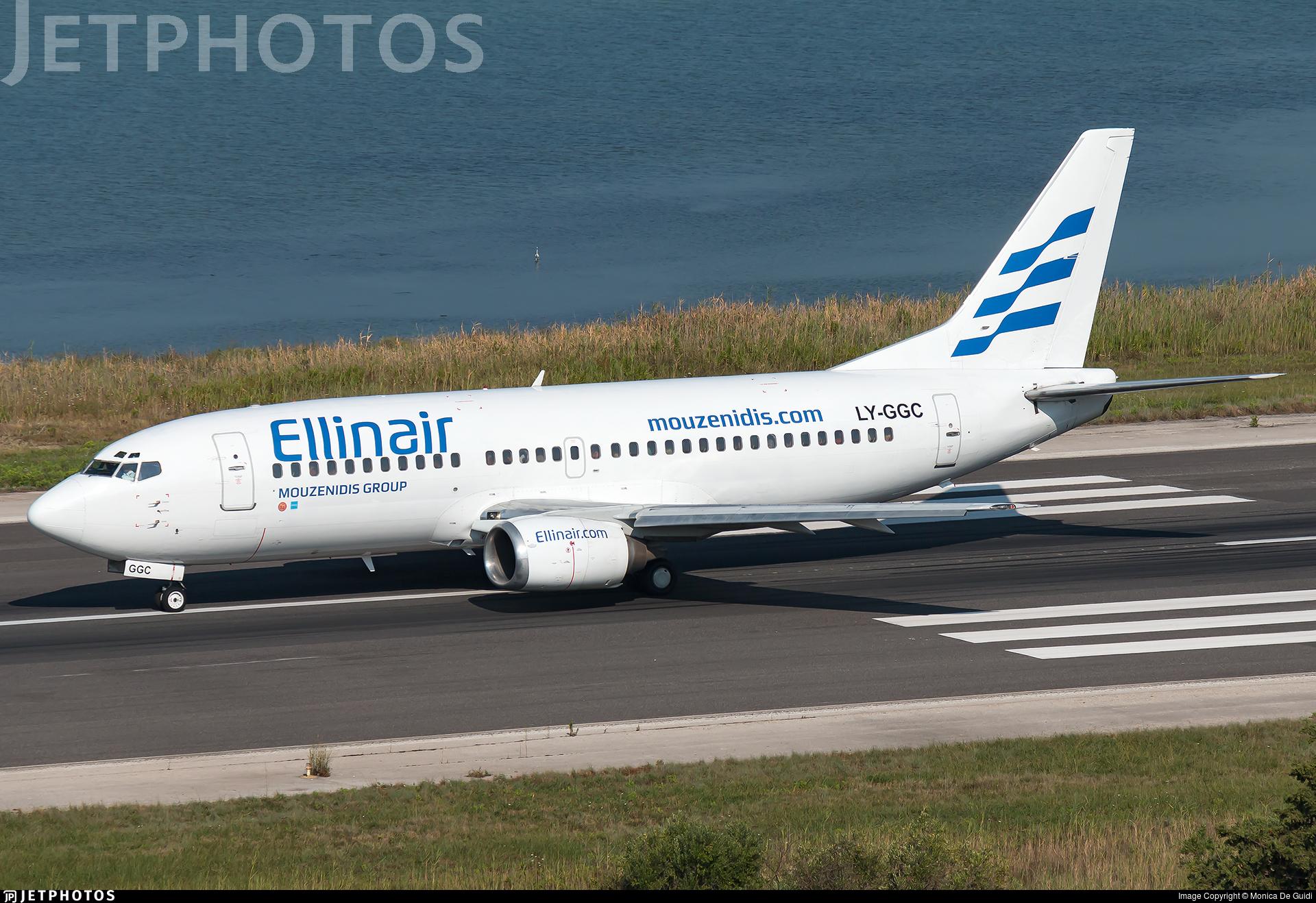 LY-GGC - Boeing 737-3Q8 - Ellinair (Grand Cru Airlines)