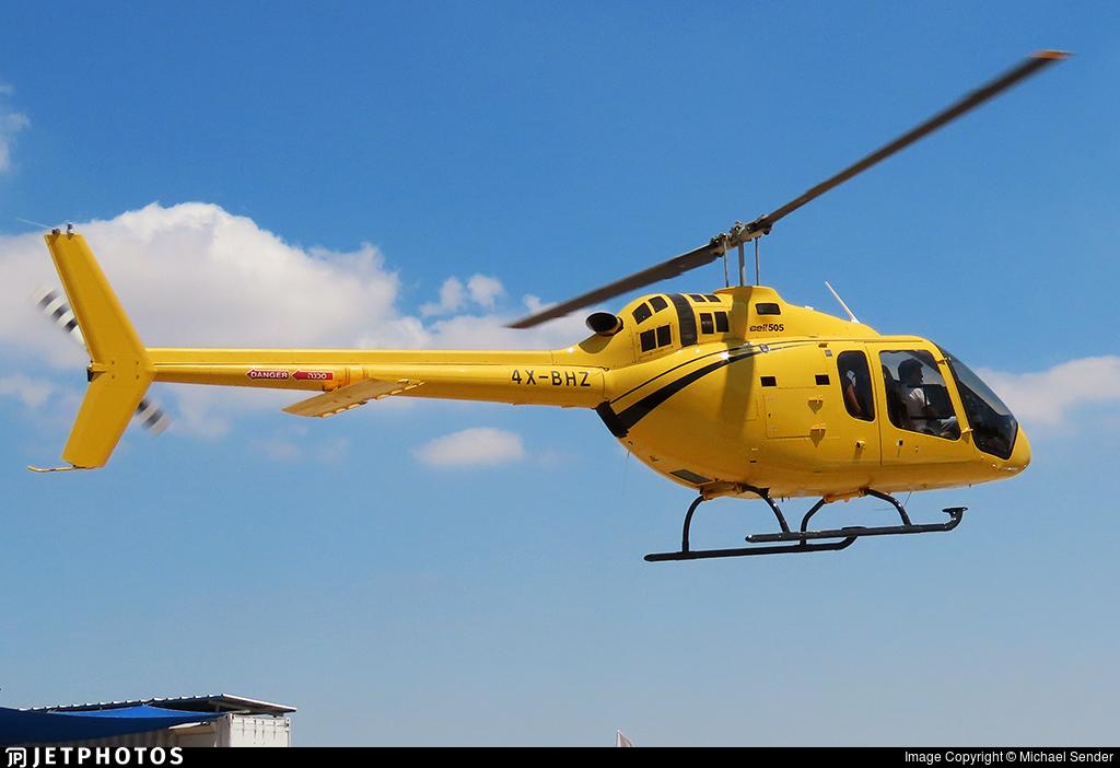 4X-BHZ - Bell 505 Jet Ranger X - Private