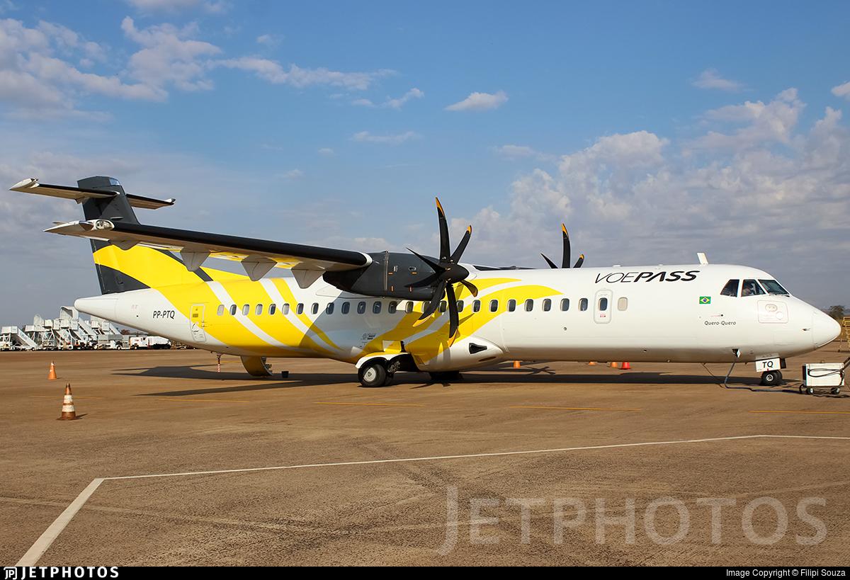 PP-PTQ - ATR 72-212A(500) - VoePass Linhas A�reas