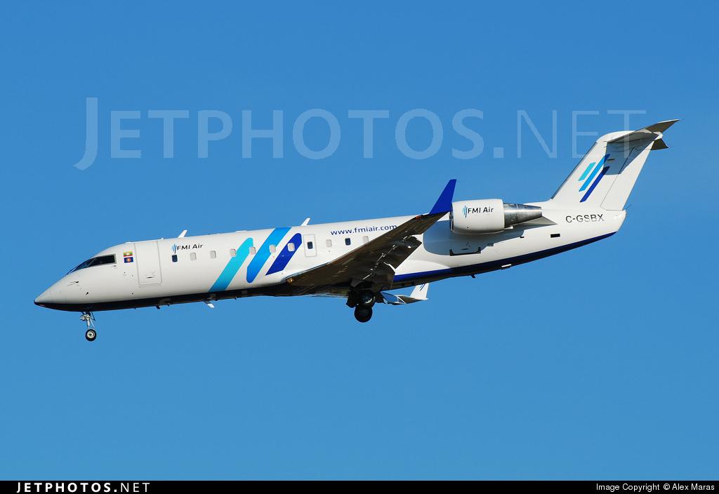 C-GSBX - Bombardier CRJ-200LR - FMI Air Charter