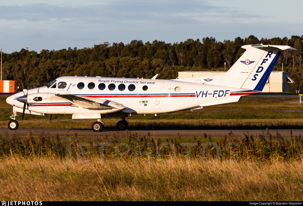 VH-FDF - Beechcraft B300C King Air 350C - Royal Flying Doctor Service of Australia (Queensland Section)