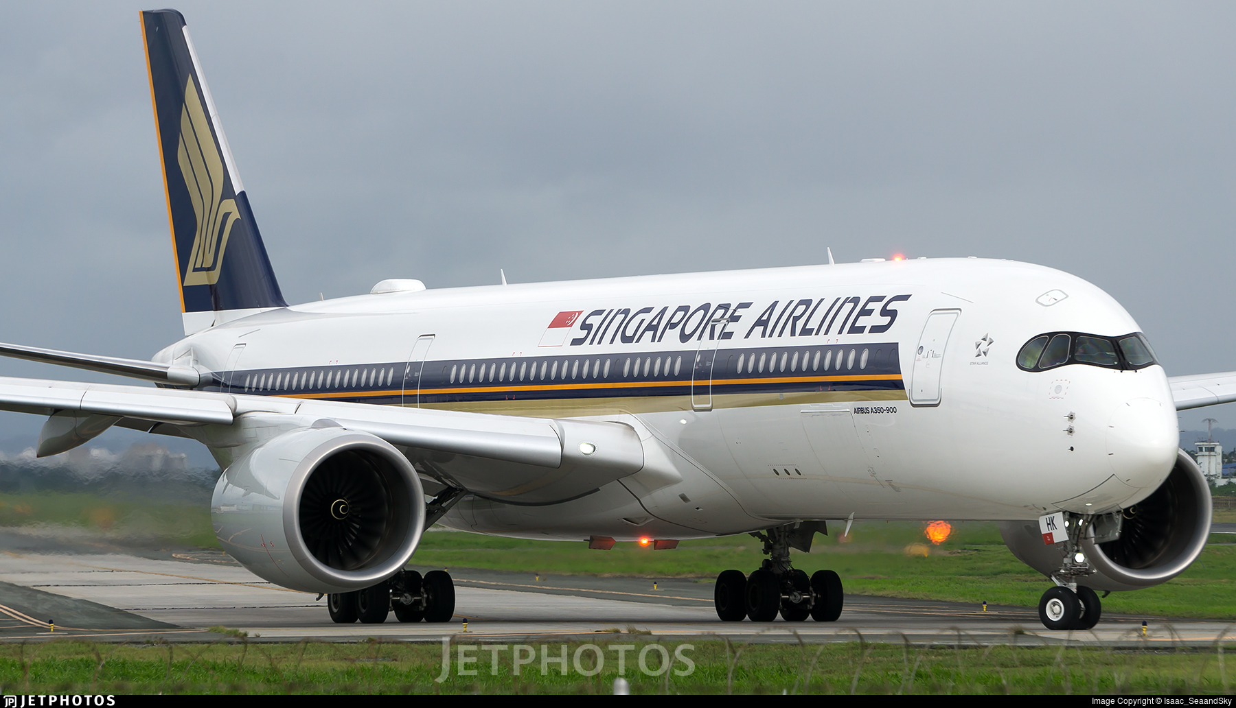 9V-SHK - Airbus A350-941 - Singapore Airlines