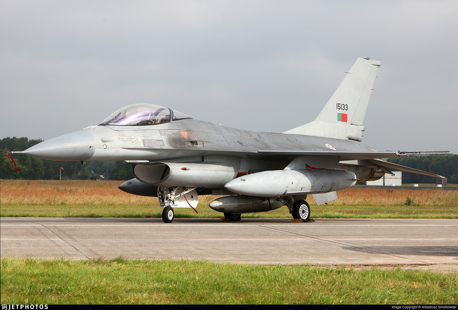 15133 - General Dynamics F-16AM Fighting Falcon - Portugal - Air Force