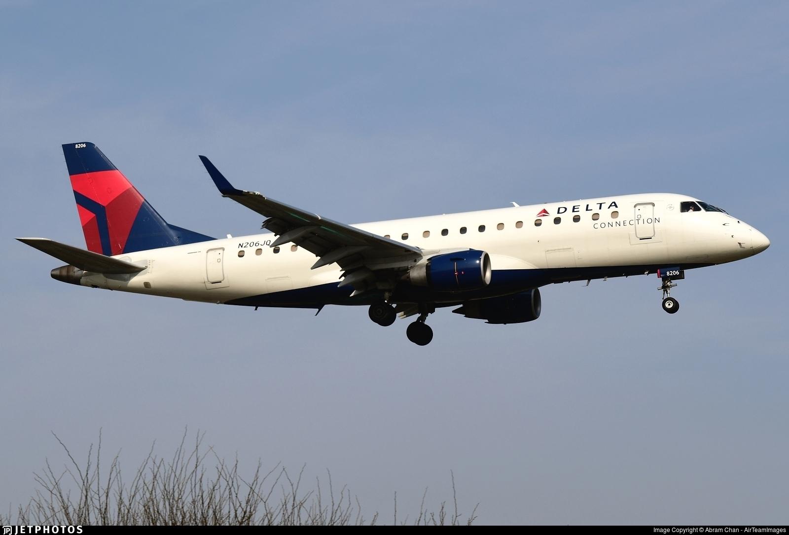 N206JQ - Embraer 170-200LR - Delta Connection (Shuttle America)