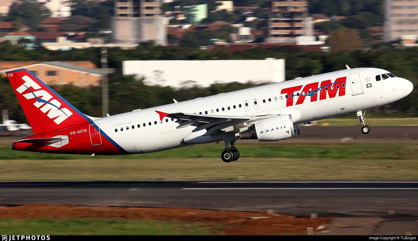 PR-MYN - Airbus A320-214 - TAM Linhas Aéreas