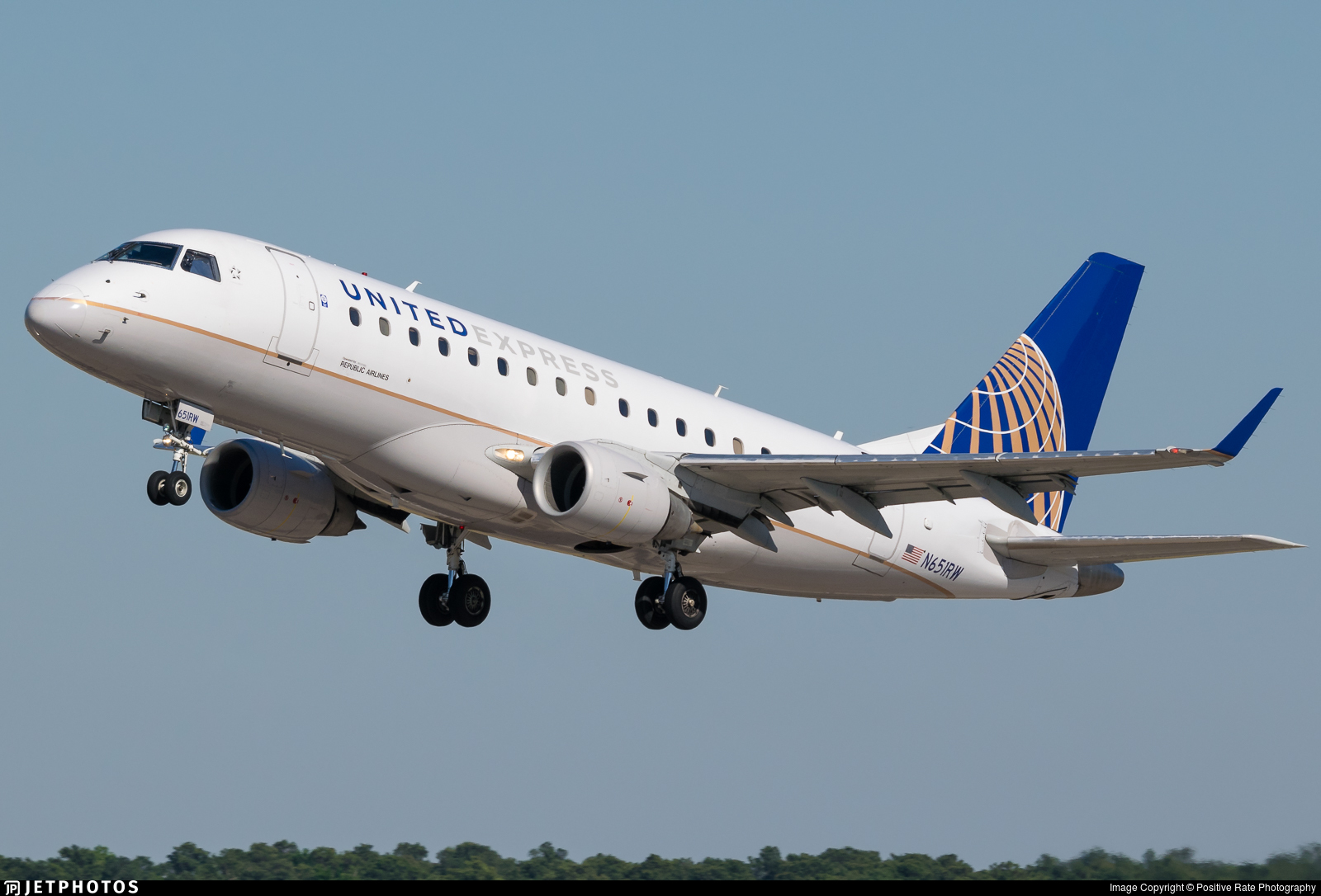 N651RW - Embraer 170-100SE - United Express (Republic Airlines)