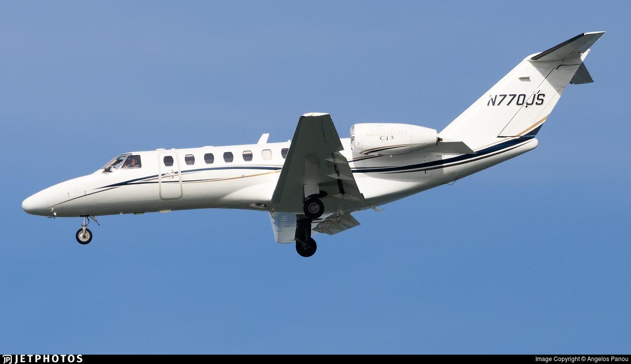 N770JS - Cessna 525B CitationJet 3 - Private