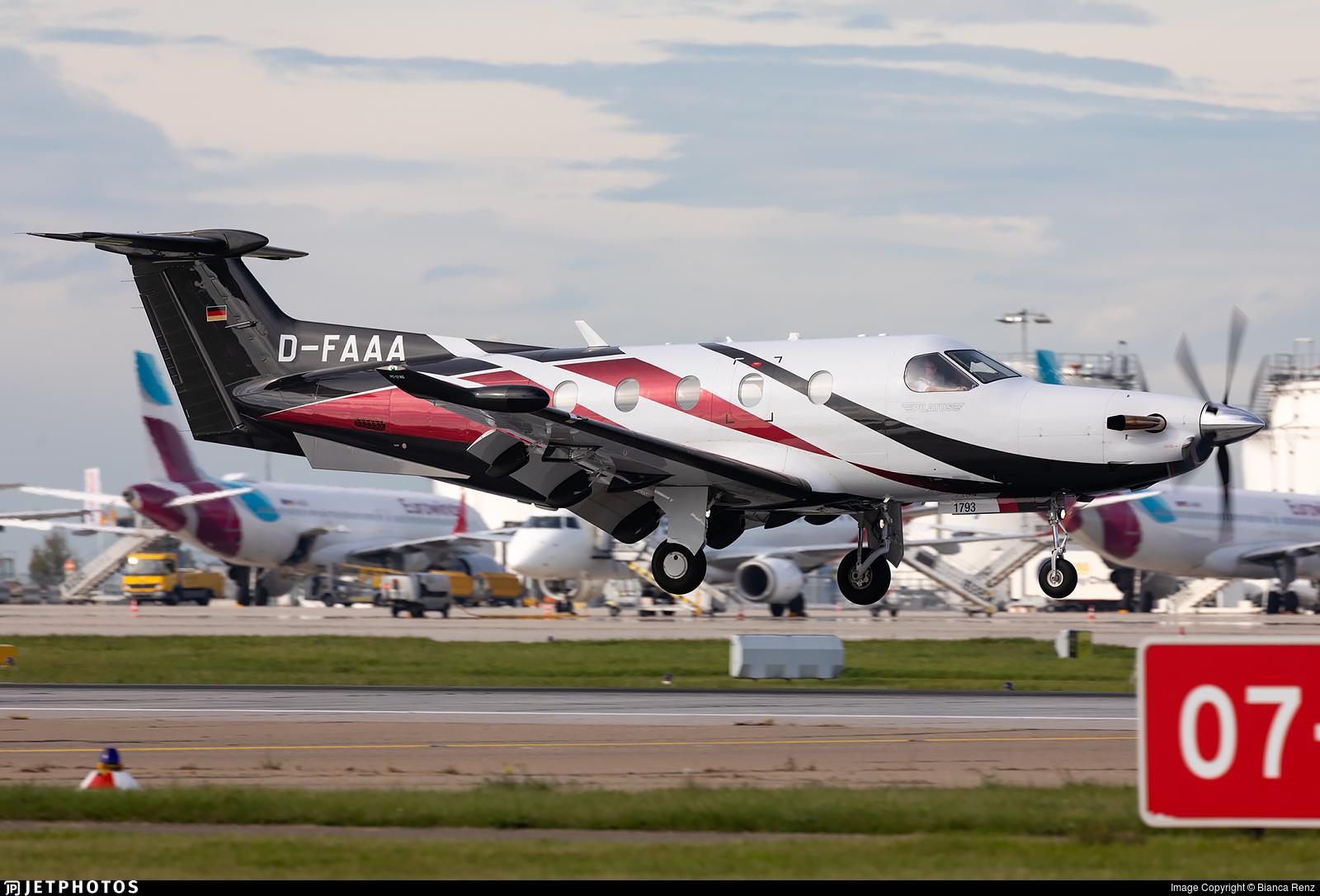 D-FAAA - Pilatus PC-12/47E - Private