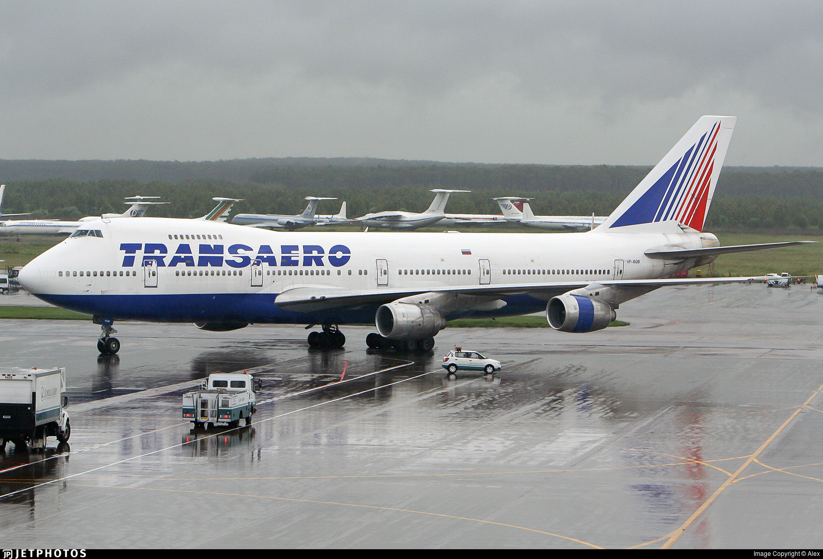 VP-BQB - Boeing 747-219B - Transaero Airlines